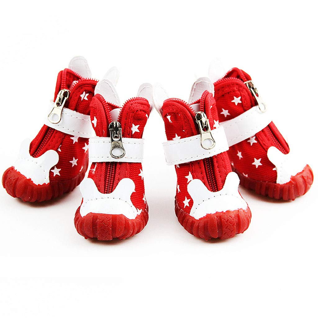 Large Pet Dog shoes Spring and Summer Teddy golden Hair VIP Puppies Than Bear Trumpet Medium Size Large shoes (Size   L)