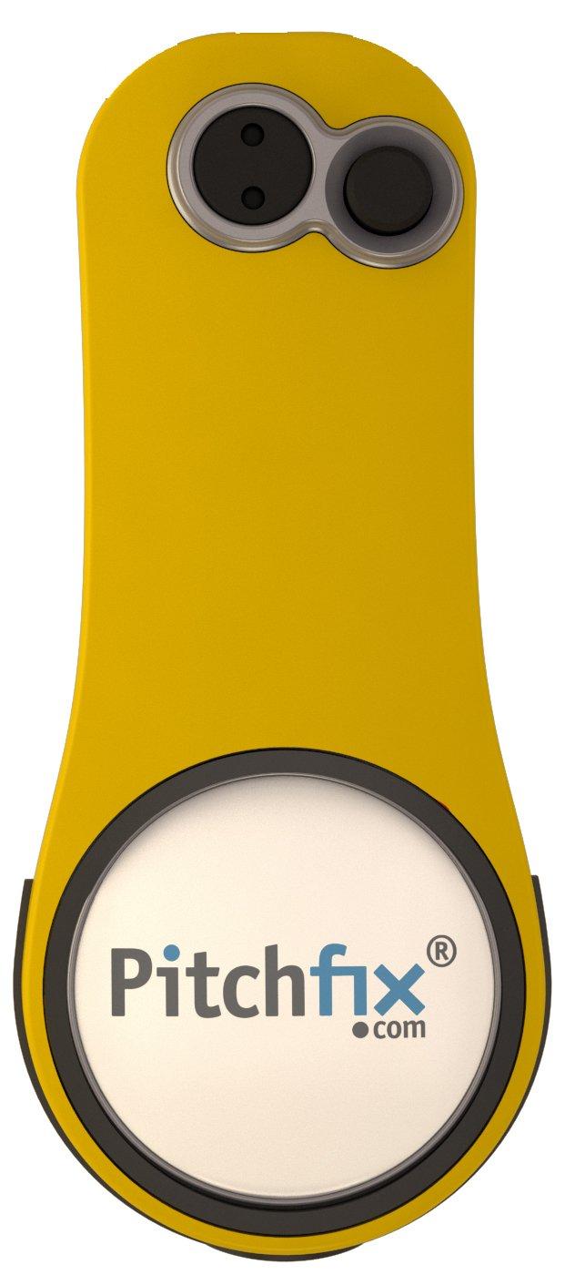 Pitchfix Fusion 2.5 Pin, Yellow/White by Pitchfix (Image #3)