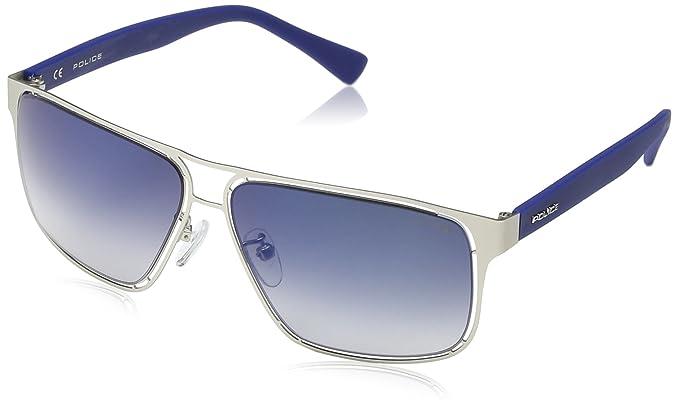 Police - Gafas de sol Oversized S8955 Offside 2, MATT ...