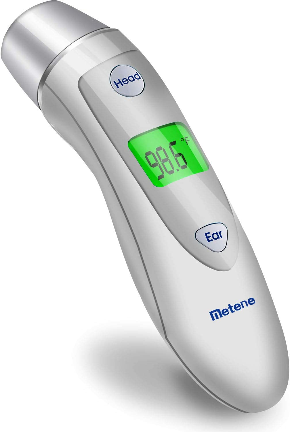 Baby Forehead and Ear Thermometer for Fever, Best Digital Infrared Kids Thermometer with Fever Alarm Instant Reading, Super Accuracy with Scan Probe for Baby Kids, Toddlers, and Adults