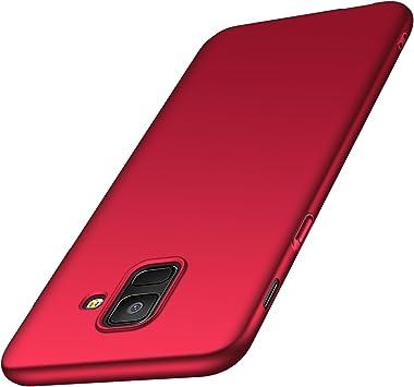 anccer Funda Samsung Galaxy A6 [Serie Colorida] [Ultra-Delgado ...