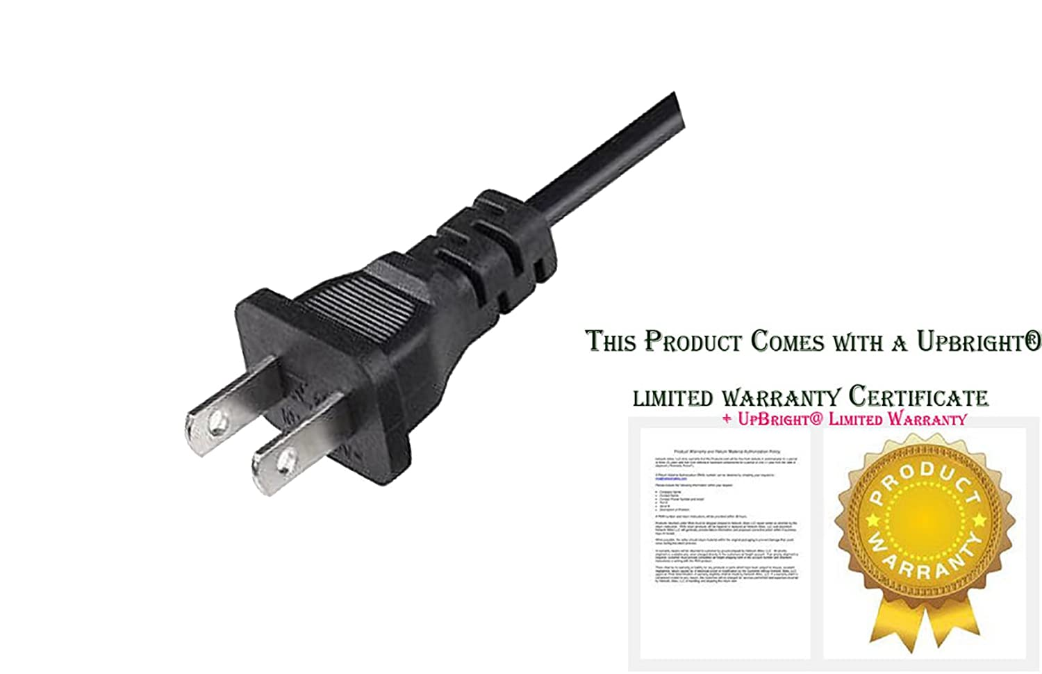 Upbright New Ac In Power Cord Cable Plug Lead For Singer Wiring Sew Mate Sewing Machine Series 5400 5500 5625 6160 120 125 130 135 140 145 150