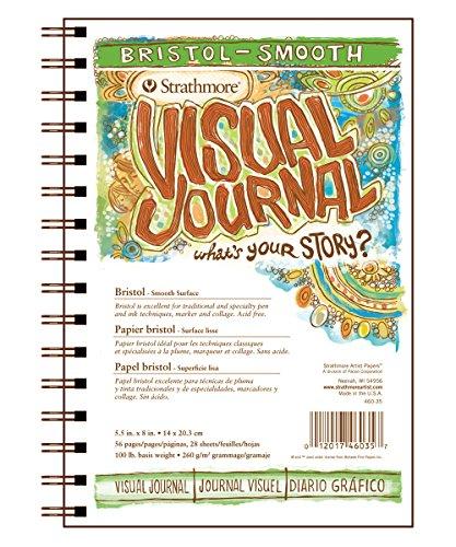 strathmore-visual-journal-bristol-smooth-55x8-28-sheets