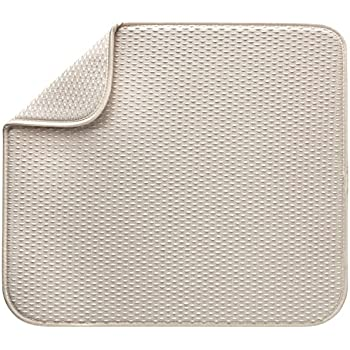 Amazon Com Envision Home Microfiber Dish Drying Mat 16