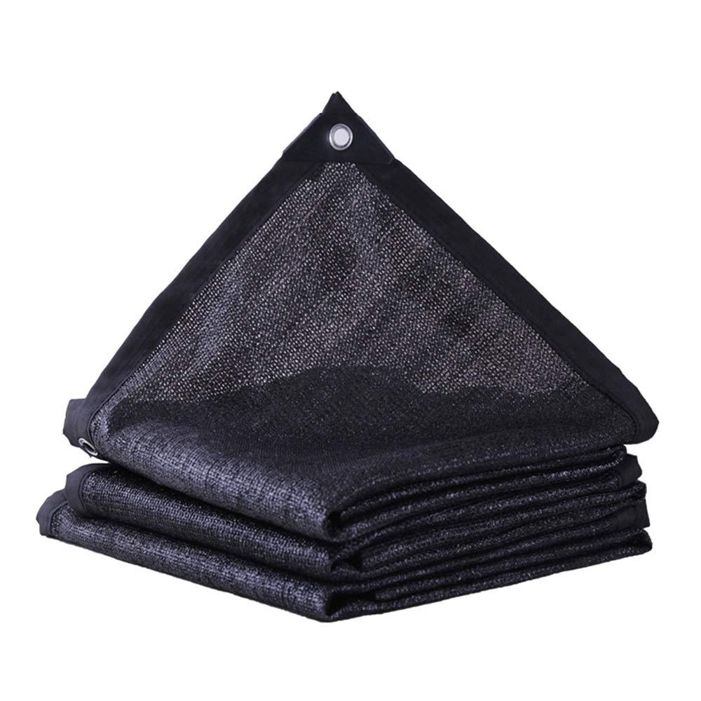 FEIFEI 90%日焼け止めシェードネット、植物カバー温室納屋犬小屋プールパーゴラまたはスイミングプール (色 : ブラック, サイズ さいず : 3×8m) 3×8m ブラック B07Q6KQJ2H