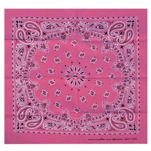 Paisley Bandana (Pink, 21