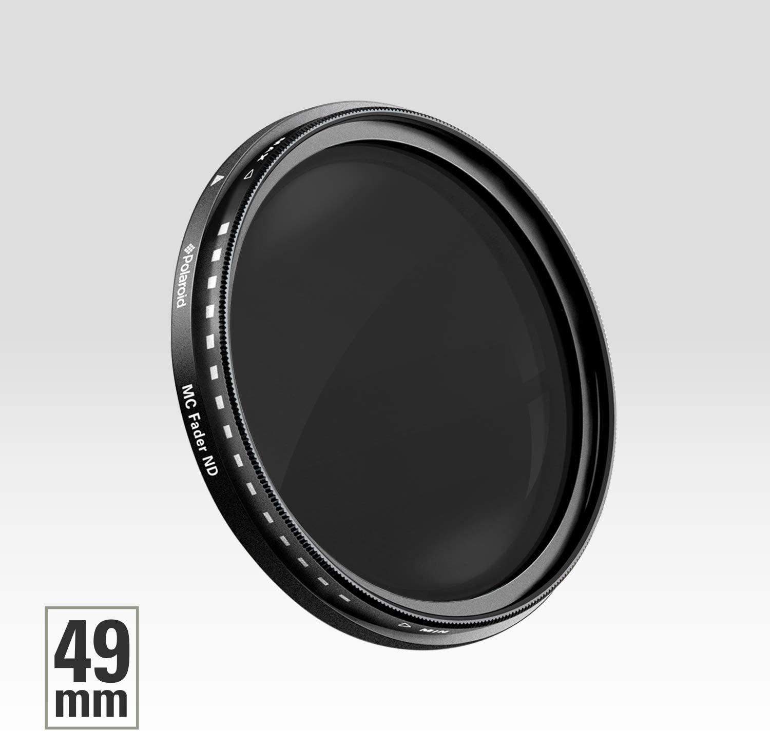 Neutral Density Fader Filter ND2-ND2000 Polaroid Optics 58mm Multi-Coated Variable Range Compatible w// All Popular Camera Lens Models ND3, ND6, ND9, ND16, ND32, ND400