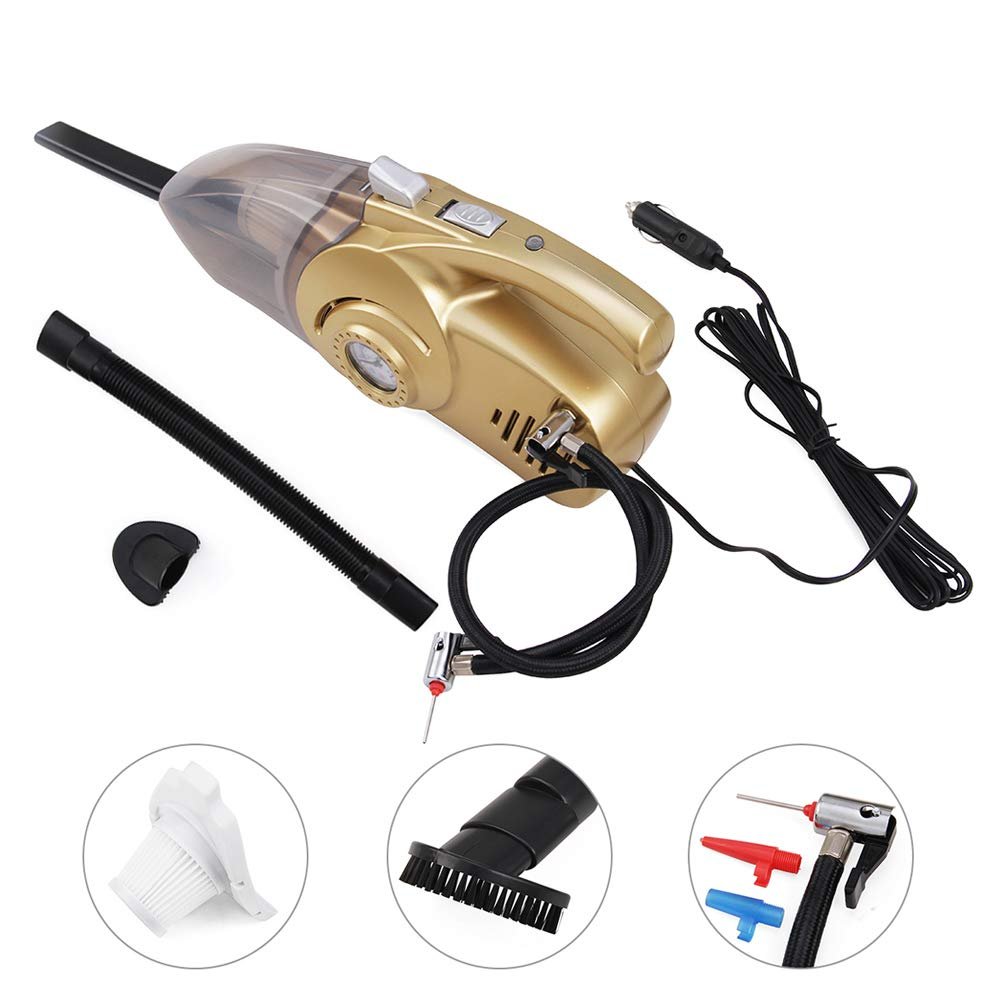 HUAHE Handheld High Power Car Vacuum Cleaner Wet & Dry for Car Interior Cleaning