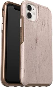 OtterBox SYMMETRY CLEAR SERIES Case for iPhone 11 - SET IN STONE (STONE RED/ROSE GOLD/SET IN STONE IML)