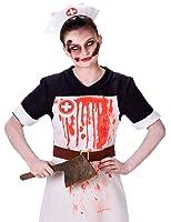 Women's Zombie Nurse Costume - Hallowen
