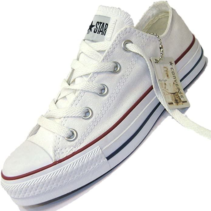 Converse - Basket - All Star Basse Ox -m7652 - Blanche