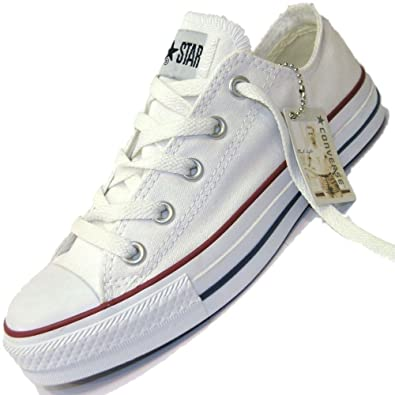 6058d56b32c49 Converse - Basket - All Star Basse Ox -m7652 - Blanche - 46.5 ...