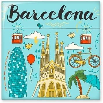 Barcelona España sagrada familia de cerámica crema decoración de ...