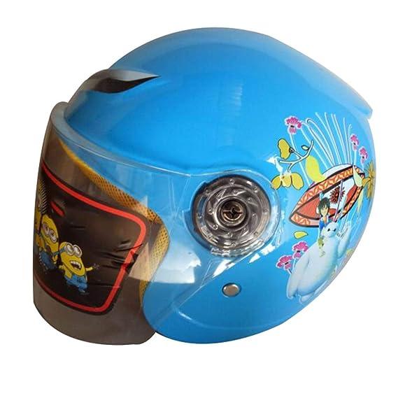 Caschi sport e tempo libero jnyzq casco moto bambino casco auto