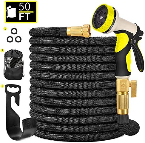 Hermard Garden Hose, Expandable 50FT Water Hose...
