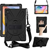 """ZenRich Galaxy Tab S6 Lite Case 10.4"""", P610/P615 Case with S Pen Holder zenrich Heavy Duty Shockproof Rugged Case with Stand"""