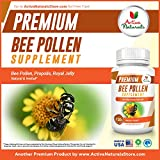 Bee Pollen Supplement with Royal Jelly & Propolis - 120 Vegetarian Capsules - 61yz4KezKaL - Bee Pollen Supplement with Royal Jelly & Propolis – 120 Vegetarian Capsules