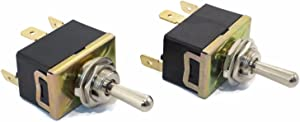 The ROP Shop New Snow Plow Angle & Lift Toggle Switch for Meyer E47 E57 E60 Powerpack