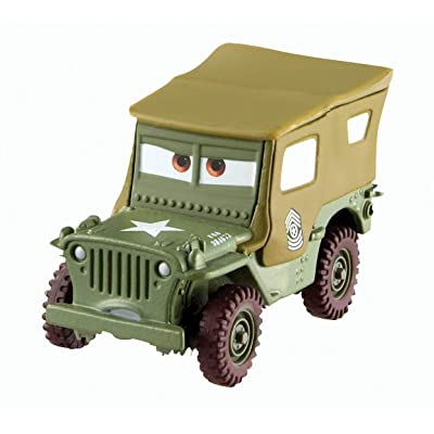 Disney/Pixar Cars Sarge Diecast Vehicle: Toys & Games
