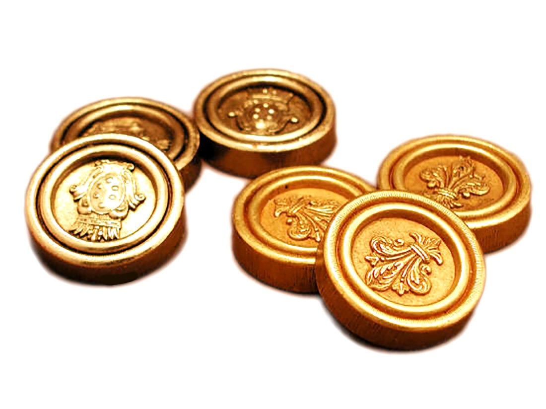 Metal Florentine Checkers