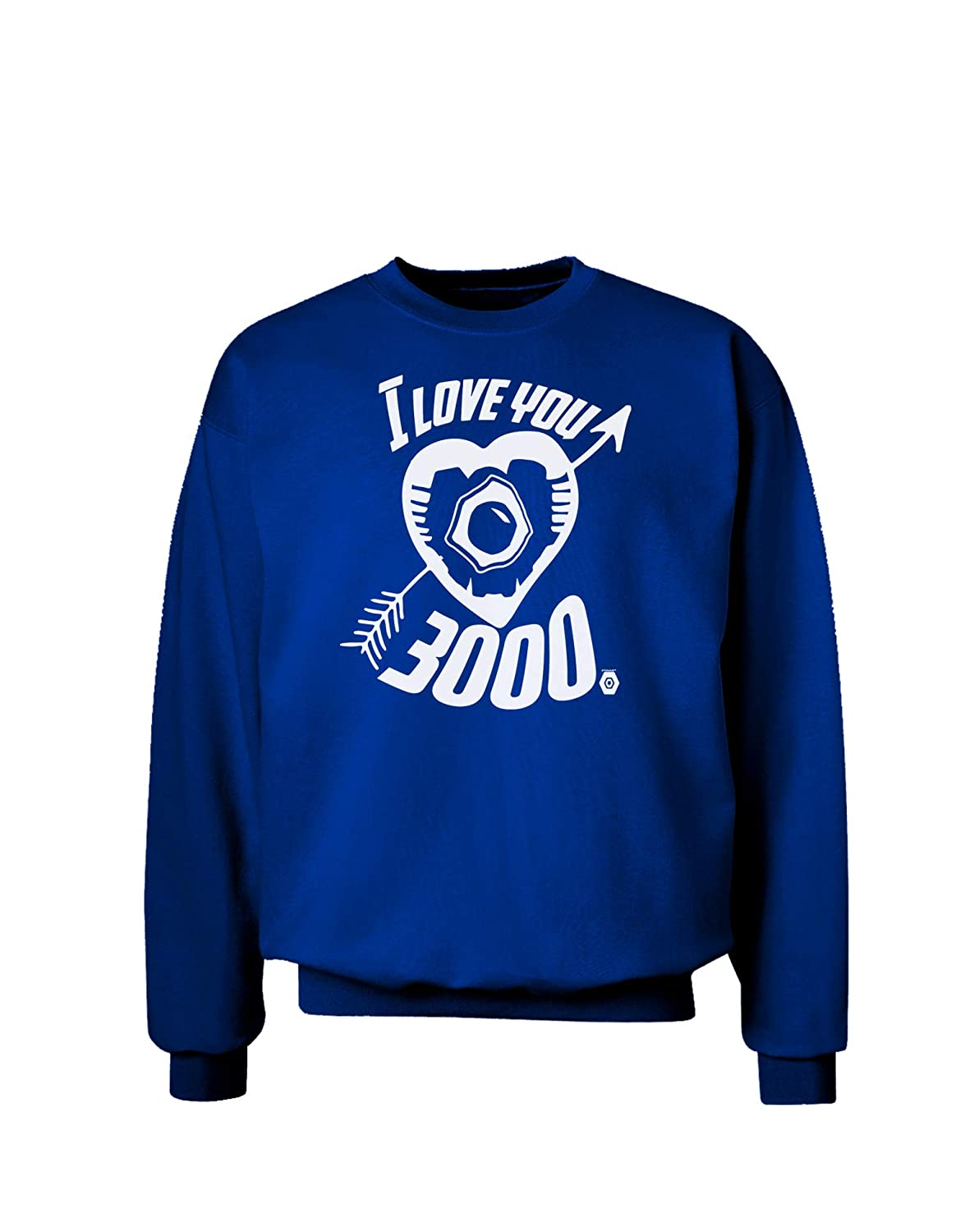 TooLoud I Love You 3000 Adult Dark Sweatshirt