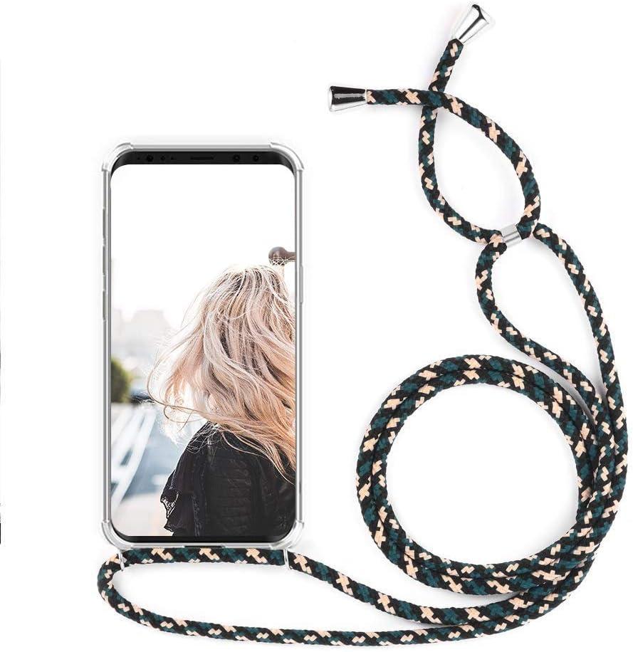 MXKOCO Carcasa de movil con Cuerda para Colgar LG K50/Q60: Amazon ...