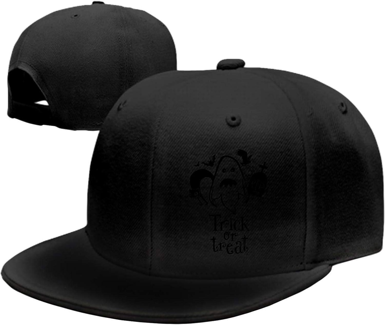 Unisex Trick Or Treat Washed Cotton Baseball Cap Vintage Adjustable Dad Hat