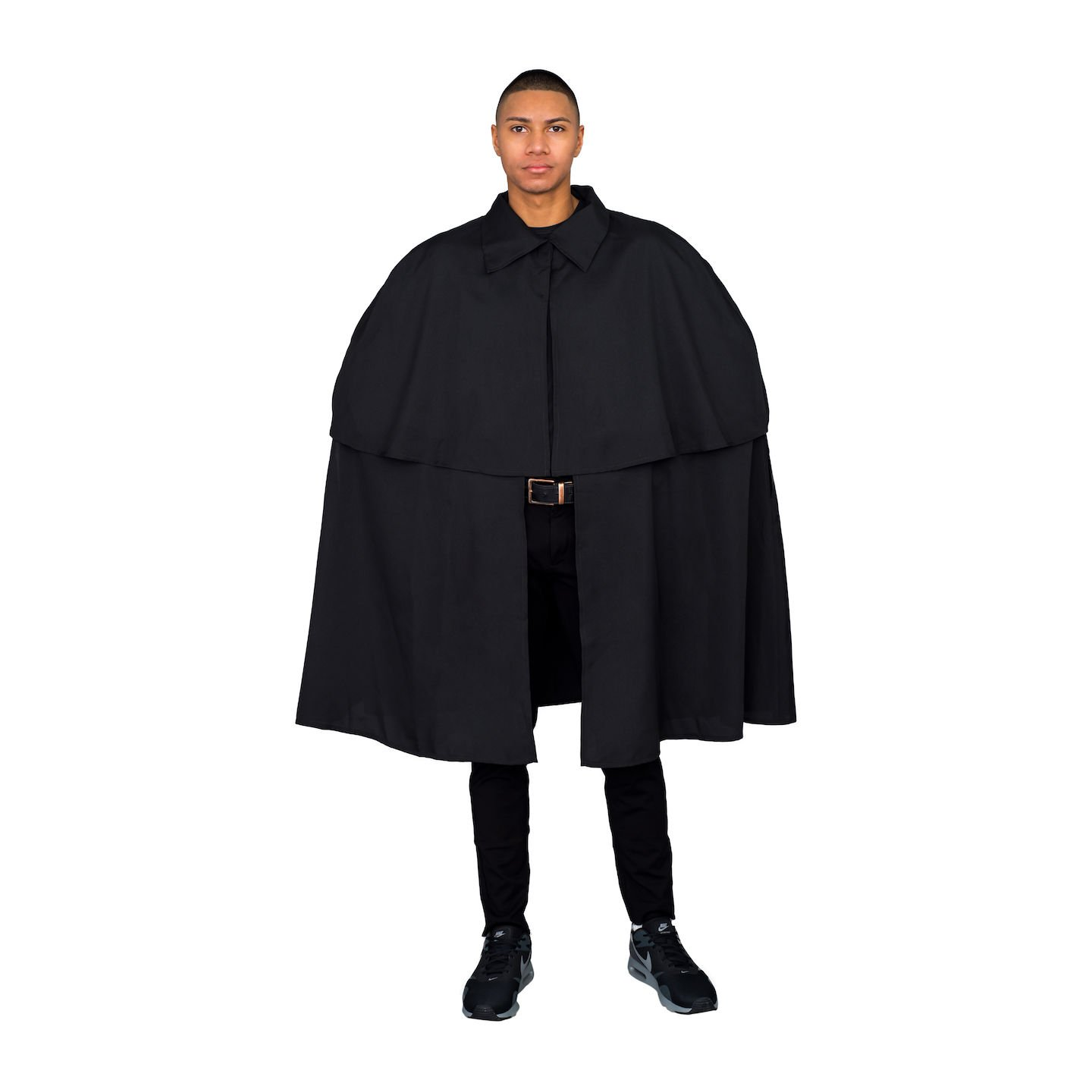 Men's Steampunk Jackets, Coats & Suits Costume Agent Victorian Era Sherlock Detective Cloak Cape Coat $29.95 AT vintagedancer.com