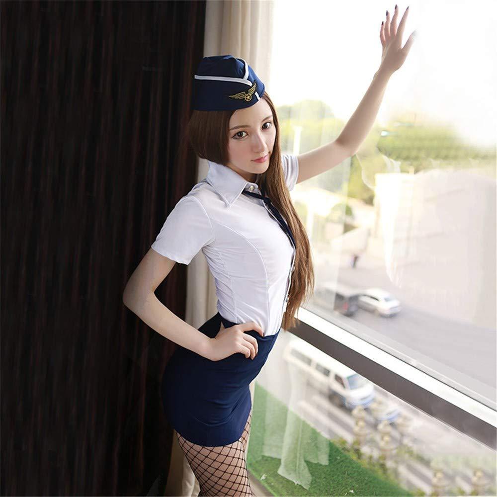 Ropa sexy interior sexy, sexy Ropa anfitriona, policía vestido de uniforme, camison, falda corta, profesional de juegos de rol, sexy ropa interior,B 48fa70