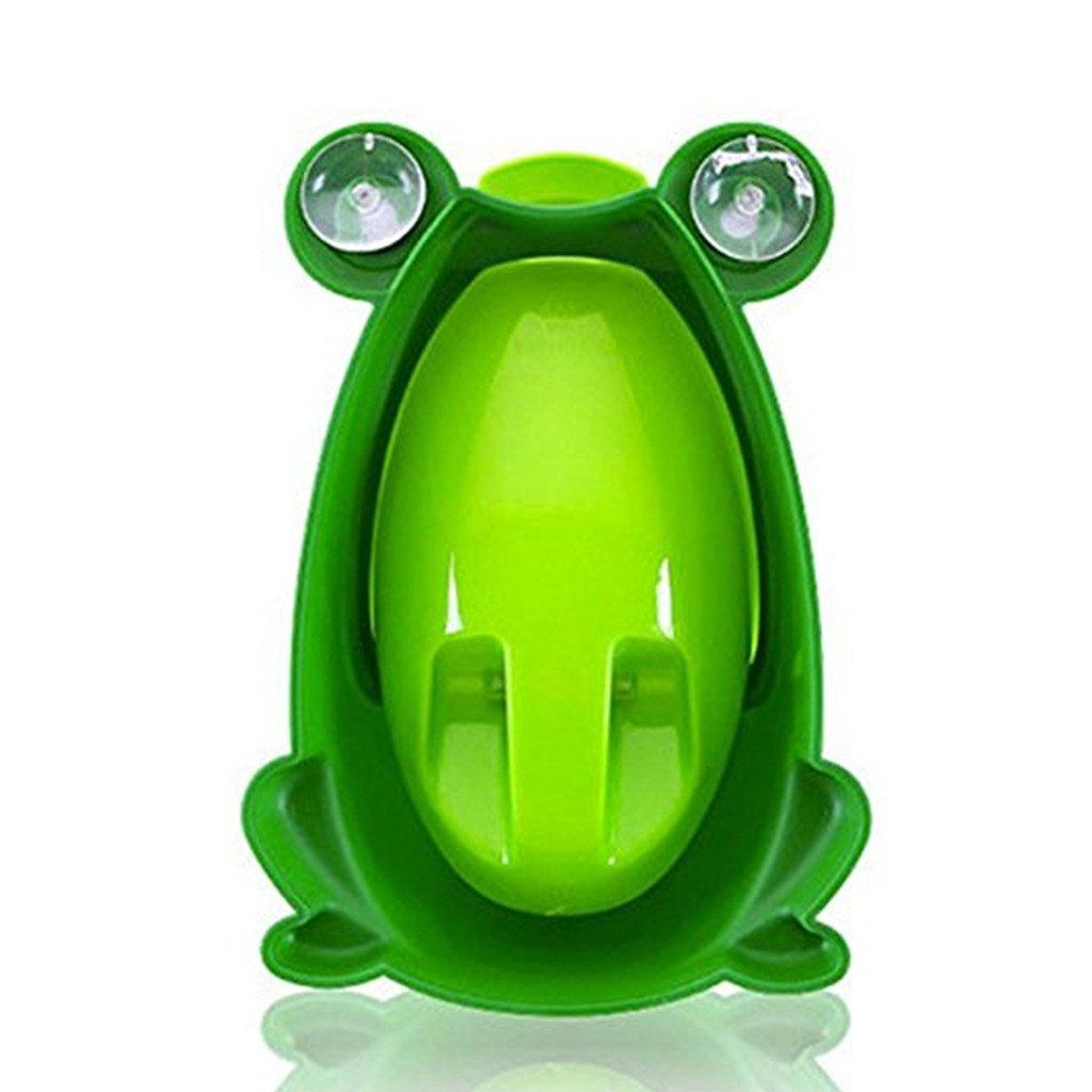 tragbar Style 1 Frosches Kunststoff-Urinal f/ür Jungen dunkelgr/ün