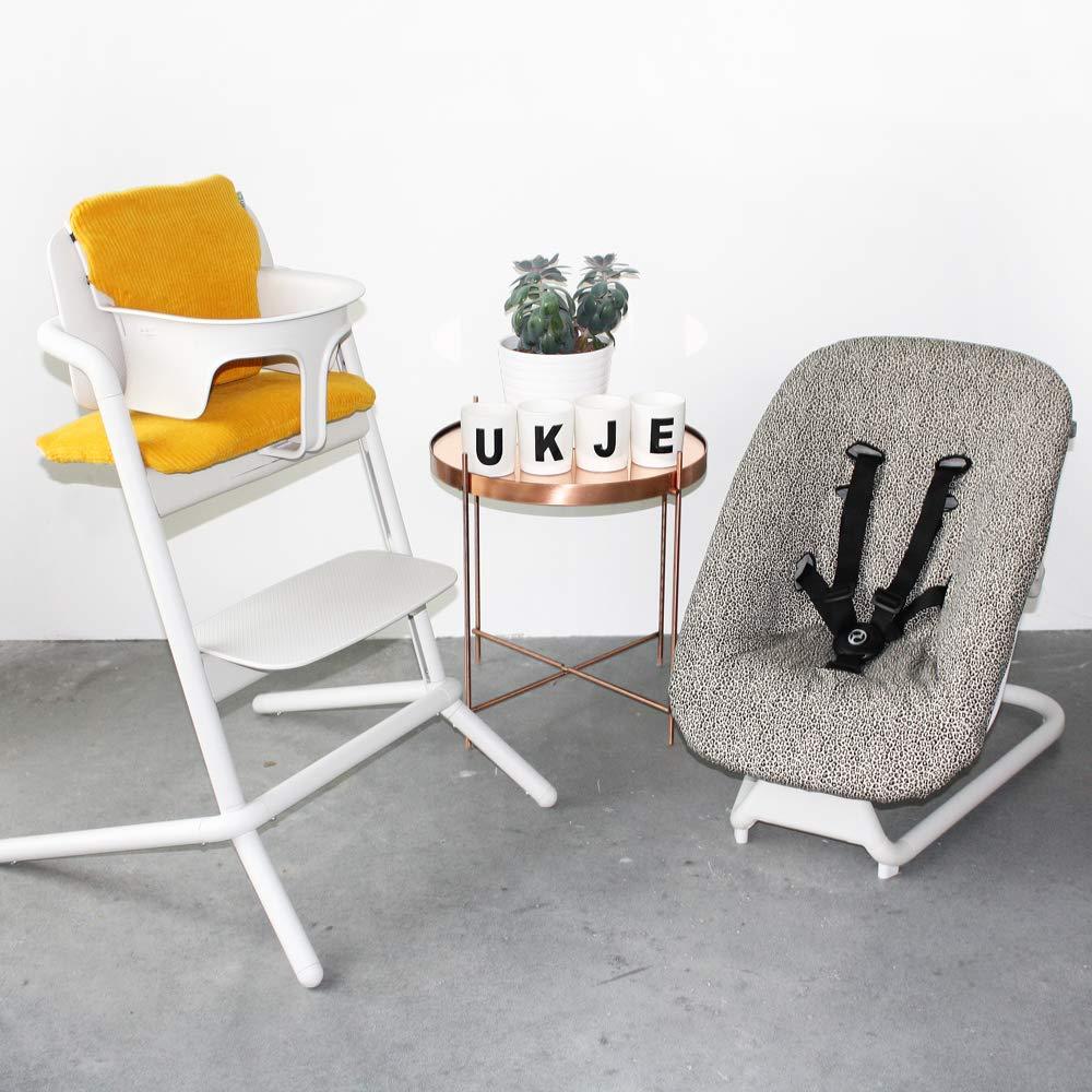 UKJE Baby Sitzkissen Sitzverkleinerer f/ür Cybex Lemo Praktisch und dick gepolstert Grau Maschinenwaschbar 2-teilig /Öko-Tex Baumwolle