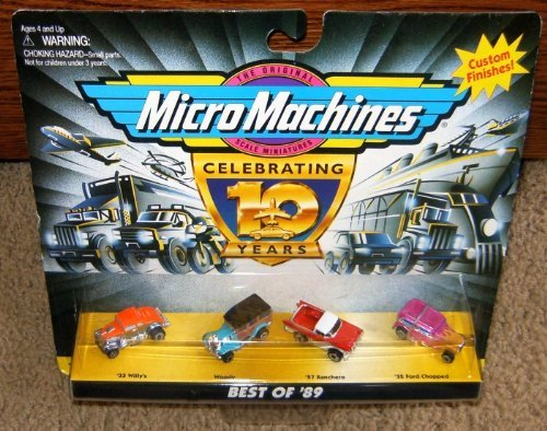 Micro Machines Best of '89 (1989) Collection ()