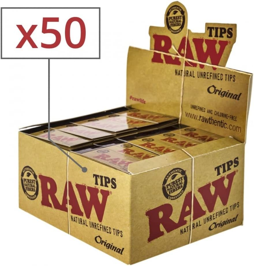RAW Filtros de cartón x50: Amazon.es: Hogar