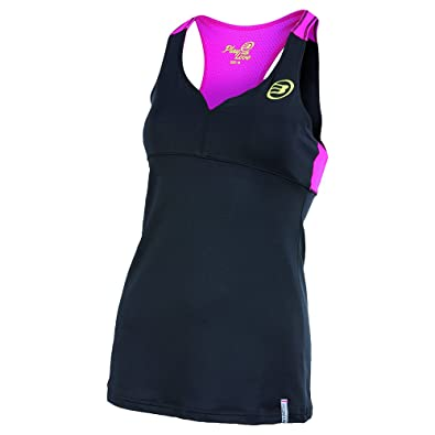 Bullpadel Busy - Camiseta de Tirantes para Mujer, Color Negro ...