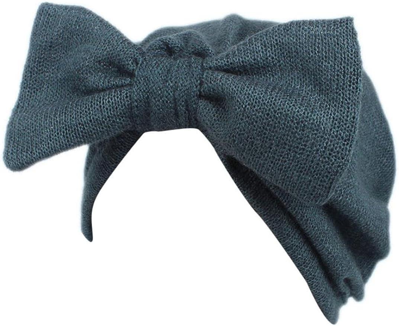 Fulltime/® Enfants b/éb/é filles tricot chapeau bonnet turban t/ête Wrap Cap bouchon de pile