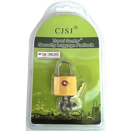 RainSound Luggage Lock with Key TSA Approved