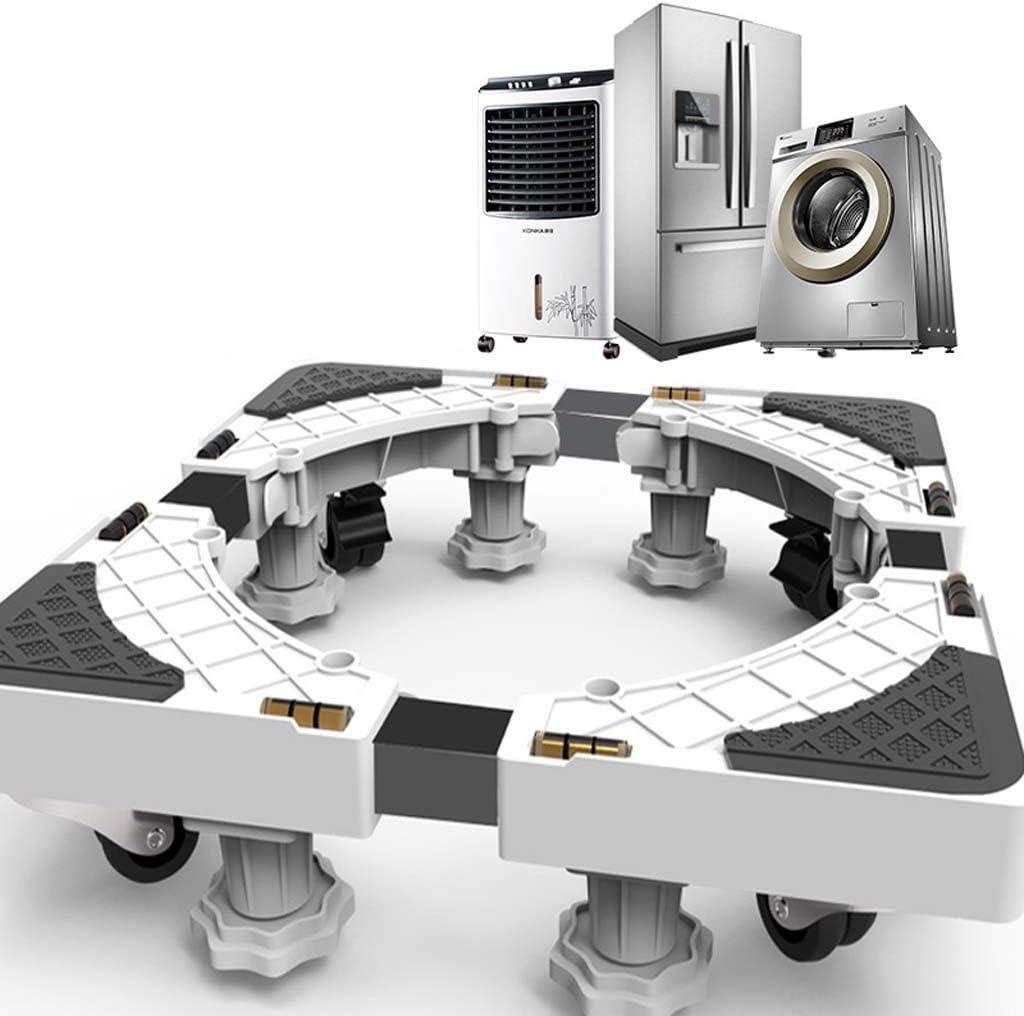 Base Especial Ajustable De Base Móvil Ajustable para Electrodomésticos - Secadora De Ropa Refrigerador Y Lavadora,L