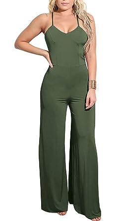 Screenes Mono Mujer Elegante Mono Pantalón Traje Overall ...