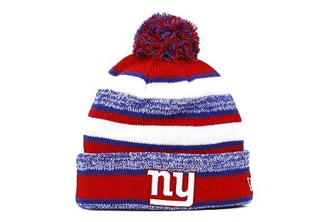 b317a0eed Amazon.com : New York Giants 2014 On Field Sport Cuffed Pom Knit ...