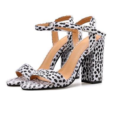 72e0fa22a71c0 Amazon.com: Memela Clearance sale Women Sandals Summer High Heel ...