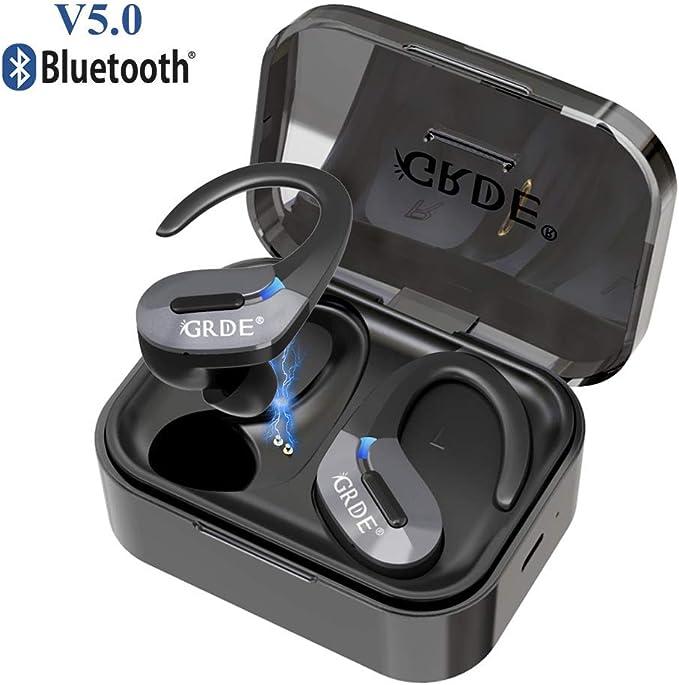 120 opinioni per Auricolari Bluetooth 5.0 Sport Cuffie Wireless Senza Fili Stereo 35 Ore di
