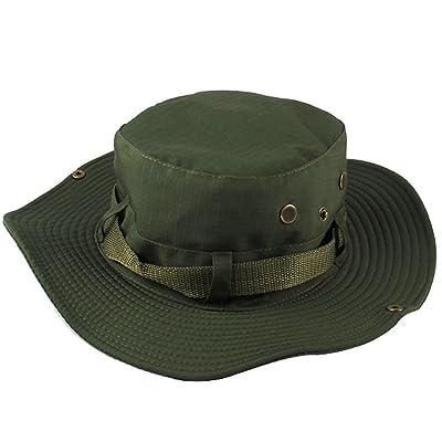Yithings chapeau de pêcheur Homme Femme Été Respirant Anti UV large Brim Chapeau pour le camping, pêche, randonnée pédestre Hat Hat Brim