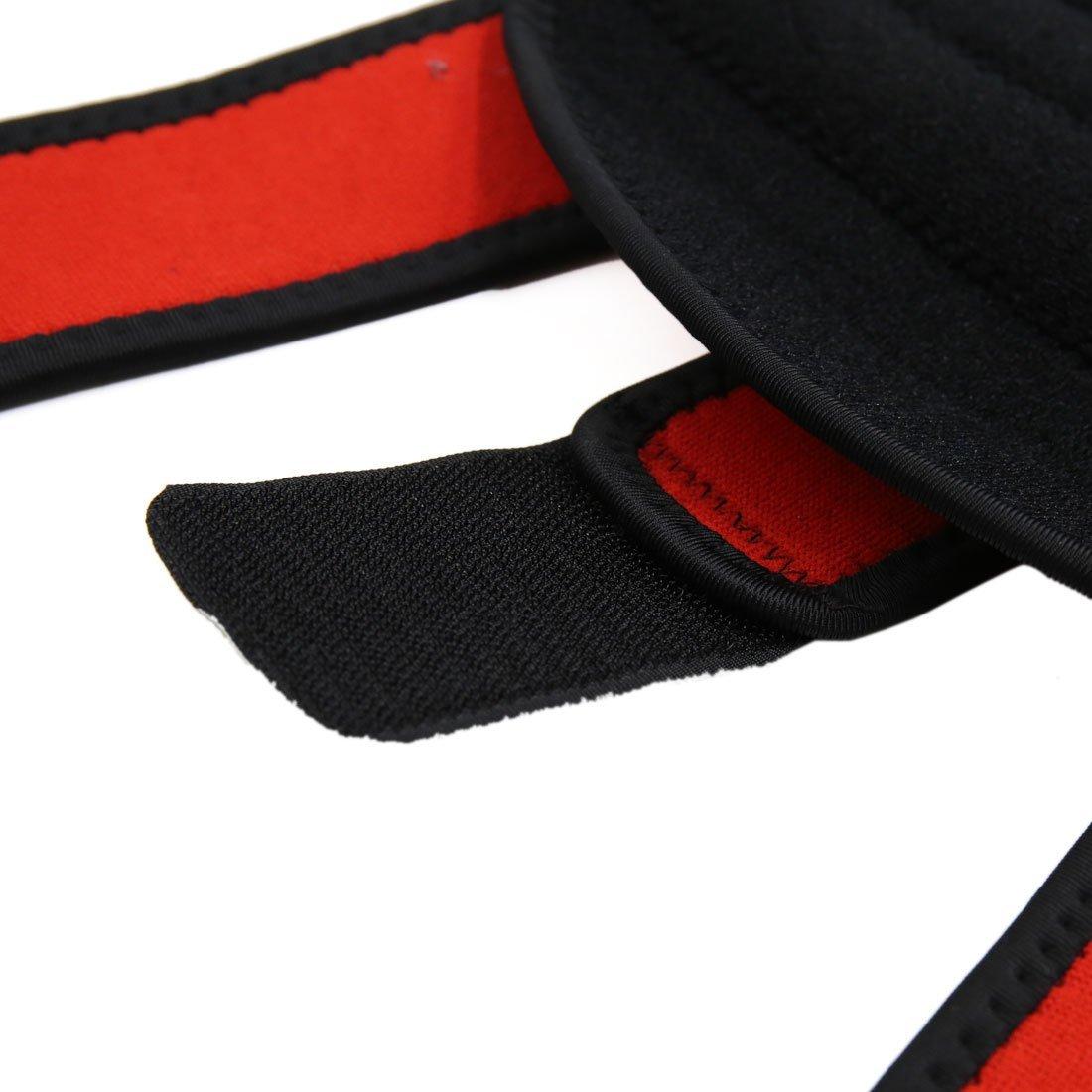 Amazon.com: Rodilla eDealMax Negro Deportes de Primavera estabilizador de la rótula apoyo de la ayuda de la Manga del Abrigo Protector: Health & Personal ...