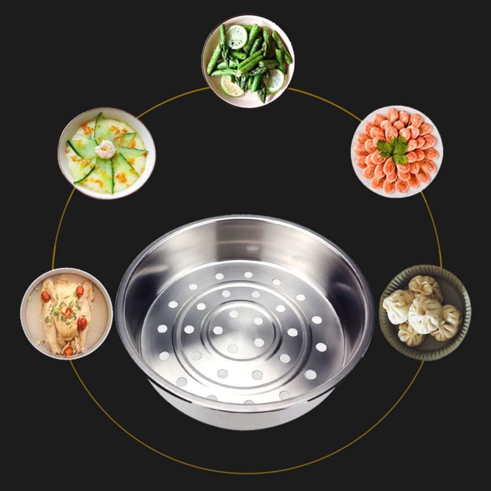 Mothcattl Panier /à vapeur en acier inoxydable /épaissi et approfondi pour l/égumes et fruits 20 cm