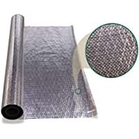 New 1000 Sqft Diamond Radiant Barrier Solar Attic Foil Reflective Insulation 4x250ft