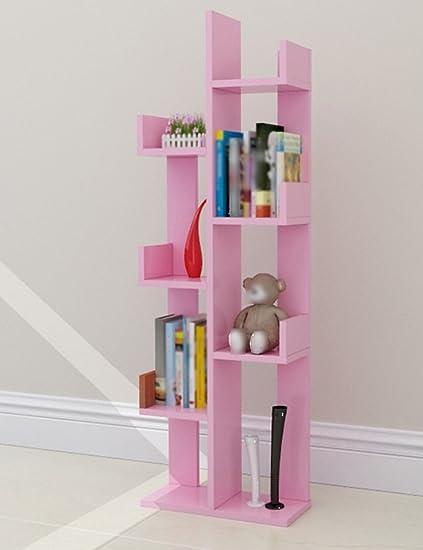 Book shelf Multifunctional bookshelf Simple tree bookshelf Bay ...