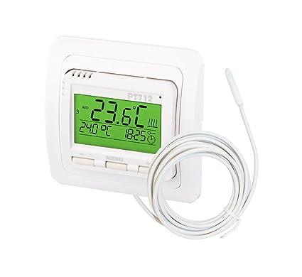Caballete eléctrico digital Termostato para calefacción de suelo radiante, pt712 EI