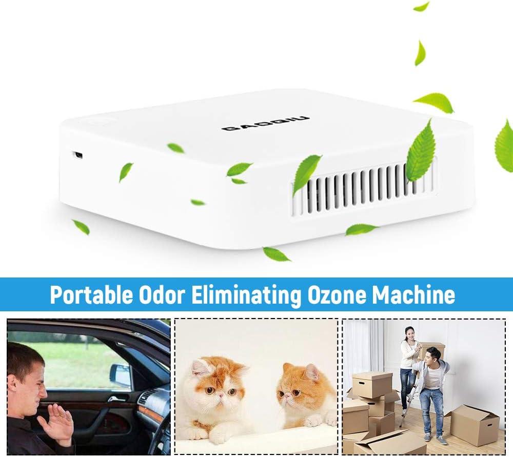 KKmoon Generador de Ozono 100mg/h,Ozonizador de aire,Purificador ...