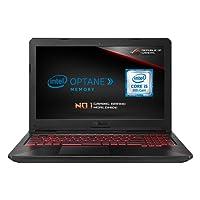 ASUS FX504GD-E4603T 15.6 Inch Full HD Wide-View Laptop (Black) - (Intel Core i5-8300H, 8 GB RAM + 16 GB Intel Optane Memory, 1 TB HDD, Nvidia GeForce GTX 1050 Graphics, Windows 10)