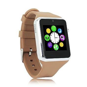 wemelody Bluetooth SmartWatch watchphone para iPhone 4/4S/5/5S/6 ...